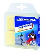 Holmenkol Парафин высокофтористый Racing Mix Wet yellow 0°/-4°С 2х35g (2018/2019)