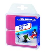 Holmenkol Парафин BETAMIX Weltcup Skiwax red  2x35г